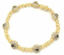Natürliche Armbänder mit Diamant Sets Edelsteinen für Damen