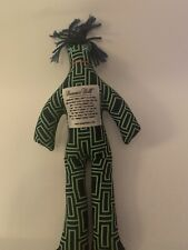 Dammit Doll Blue and Green Modern Print 13 Inches Tall 2013 Novelty Stress Gift