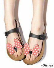 Ladies Disney Birkenstock Tofino Minnie Mouse Ribbon Toe Post Sandals UK 5 EU 38