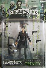 Matrix TRINITY w/COAT action figure-N2 Toys-Carrie Moss-Neo-Wachowski-NIB