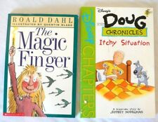 Lot-The Magic Finger, Doug Chronicles: Itchy Situation by Nodelman* Children's