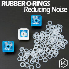 120 PCs/ Lot CLEAR Rubber O-Ring Damper keycap Mechanical Keyboard CHERRY