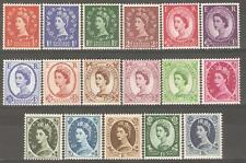1958/61 Wmk. Multiple Crowns Mint Never Hinged ( Set of 17 )