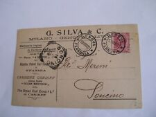 Milano - G. Silva & C. - spedita f. p. 1907