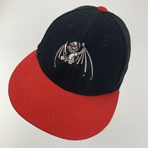 Unknown Bat Logo Ball Cap Hat Fitted XS Baseball