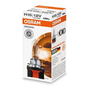 1x Osram 12V 15/55W PGJ23t-1 H15 Bulb [64176]