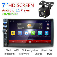 Android5.1 Dual Core GPS Bluetooth Wifi Car Media Player 2 DIN 3G/FM/AM/USB/SD