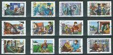 NOUVEAUTE 2020 les 12 timbres du Carnet - TOUS ENGAGES oblitérés