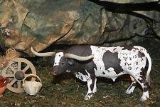 "Retired Schleich Texas Longhorn Bull Figurine for 3.5"" Farm Animal Wild West"