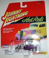 Purple 1923 T-Bucket Hot Rods Johnny Lightning Die Cast Car 1:64 scale
