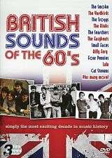 BRITISH SOUNDS OF THE 60s 3 DVD BOX SET CILLA BLACK LULU THE ANIMALS & MANY MORE