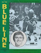 1976 New England Whalers vs Birmingham Bulls WHA Hockey Program - #FWIL