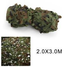 Filet Camouflage Forêt Jungle Camo Camping Chasse Armée Militaire Vert 2mx3m PS
