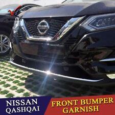 Gli accessori si adattano per Nissan Qashqai J11 2017-18 Paraurti Anteriore Cromato Protettore per labbra