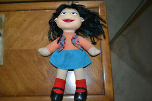 Fisher Price Puzzle Place Doll with tag - Julie Woo.
