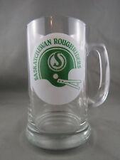 Old Sakstachewan Roughrider Beer Mug - 1960s Helmet Logo - Show Your Rider Pride