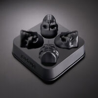 Shaped 3D Skull Flexible Silicone Ice Cube Mold Tray - Authentic By Shaped