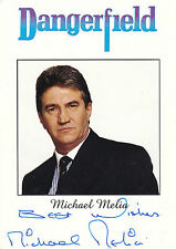 EARLY MICHAEL MELIA HAND SIGNED  PROMO PHOTOGRAPH 6 x 4