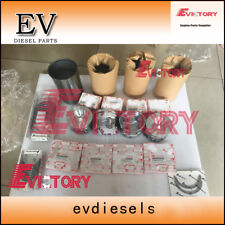 Isuzu engine rebuild kit 4JJ1 4JJ1X piston+ring+liner+gasket+bearing for case130