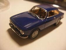 Voiture SOLIDO 1/43 ALFA ROMEO 1300 Junior Coupé 1969 Bleu Neuf