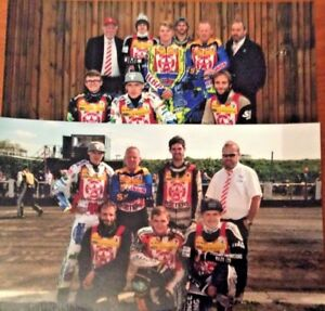 2018 STOKE POTTERS  TEAM SPEEDWAY PHOTOGRAPH's   ( EXCELLENT CONDITION )