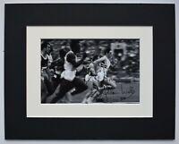 Allan Wells Signed Autograph 10x8 photo display Moscow 1980 Olympics AFTAL COA