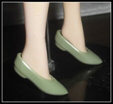 SHOES MATTEL BARBIE DOLL LORD OF THE RING LOTR ARWEN GREEN FLATS SHOES ACCESSORY
