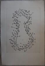 Fernandez ARMAN : Squelette de Violon - GRAVURE sur ARCHES # 1979 # Moreau
