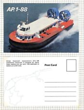 BC268 1960s GB *British Hovercraft Co* Service Postcards{2} Album Page