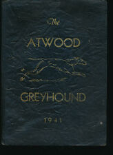 Atwood IN Atwood HIgh School yearbook 1941 Indiana Grades 12-1