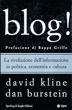 Blog! Kline David