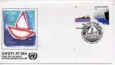 Naciones Unidas Nueva York sobre 1º día del año 1983 (DF-787)