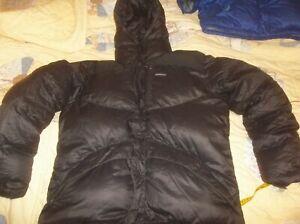 Patagonia DAS Down Himalayan Expedition 800fp Jacket Coat BAFFLED Parka RARE Lrg