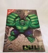 """Marvel Incredible Hulk Wall Sign 15""""x 10"""" Tin Sign New--See Below"""