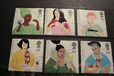 GB 2005 Commemorative Stamps~Gastronomy~Fine Used Set~UK Seller
