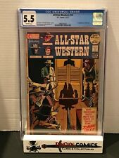 All Star Western # 10 CGC 5.5 1st App of Jonah Hex OW Pages DC 1972