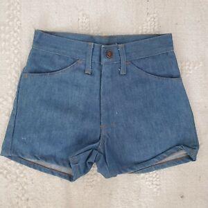 Vintage 70s Denim/jean Shorts High Waist Nwt
