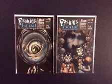 FASHION BEAST #1, 2 Comic Books Avatar 2012 ALAN MOORE Facundo Percio NM