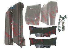 Suzuki Samurai SJ Long Body F/R Bumper Cover Rocker Corner Side Moulding Set S2u
