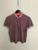 TED BAKER Polo Shirt - Size 3 Medium - Great Condition - Men's