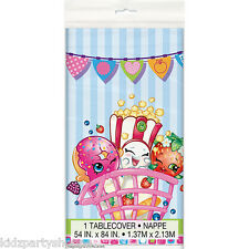SHOPKINS TABLECOVER Table Cover Birthday Party Supplies Buffet Tableware