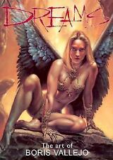 DREAMS: THE ART OF BORIS VALLEJO, Warrior Women, Dragons, Fantasy Heroes