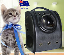 Dog Cat Pet Astronaut Capsule Backpack Transparent Breathable Carrier Travel Bag