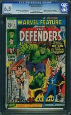 Marvel Feature #1 CGC 6.5 1971 1st Defenders! Hulk! Doctor Strange! F2 215 cm