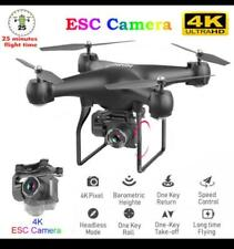 RC Drone Quadrocopter UAV with Camera 4K Profesional WIFI Wide-Angle Aerial Phot