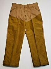 Vintage Chief Brush Guard Hunting Pants 35 x 28 Water Repellent