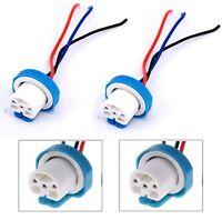 Wire Pigtail Female Ceramic 9007 HB5 Two Harness Headlight Bulb Plug Repair Lamp
