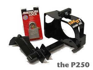 LOK-ITT STEERING COLUMN LOCK MODEL 250 MEDIUM/HEAVY DUTY TRUCK and SUV