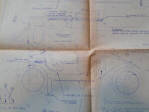 Arrow Development Company FRENCH TAXI car ride assembly blue print final