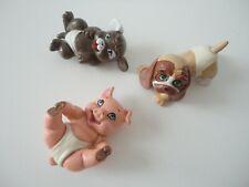 GALOOB Magic Diaper Babies ANIMALS x3